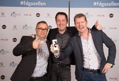 FD Gazellen 2019 - Goud voor Appronto